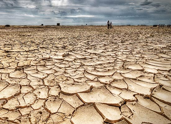 Drought or shortage of water