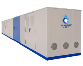 Tsunami-4000 — atmospheric water generator
