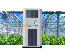 Tsunami R/DH — greenhouse climate control, combined with atmospheric water generation
